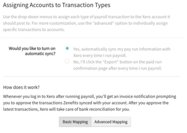 PYP Accounting Integration Set Up