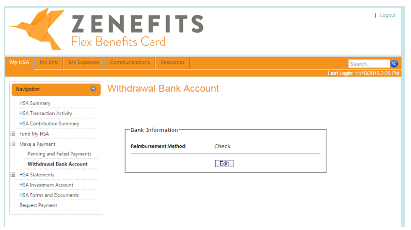 How do I enter direct deposit information in the Avidia ...